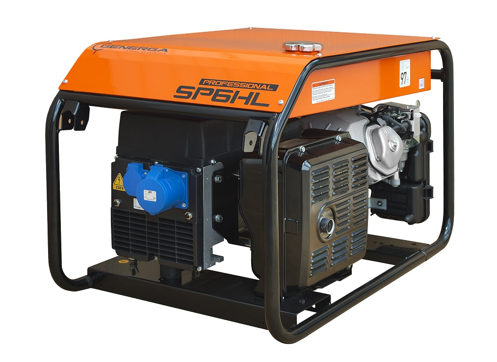 Petrol power generator SP6HL