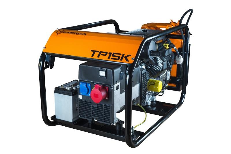 Petrol power generator TP15K