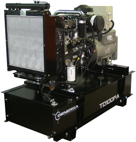 Diesel power generator TD100PA