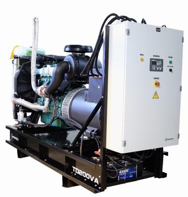Diesel power generator TD200VA