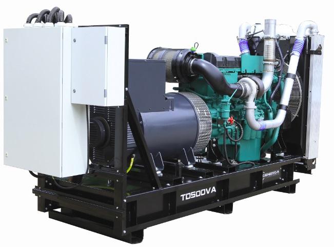Diesel power generator TD500VA