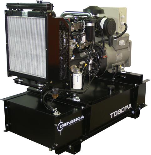 Diesel power generator TD80PA