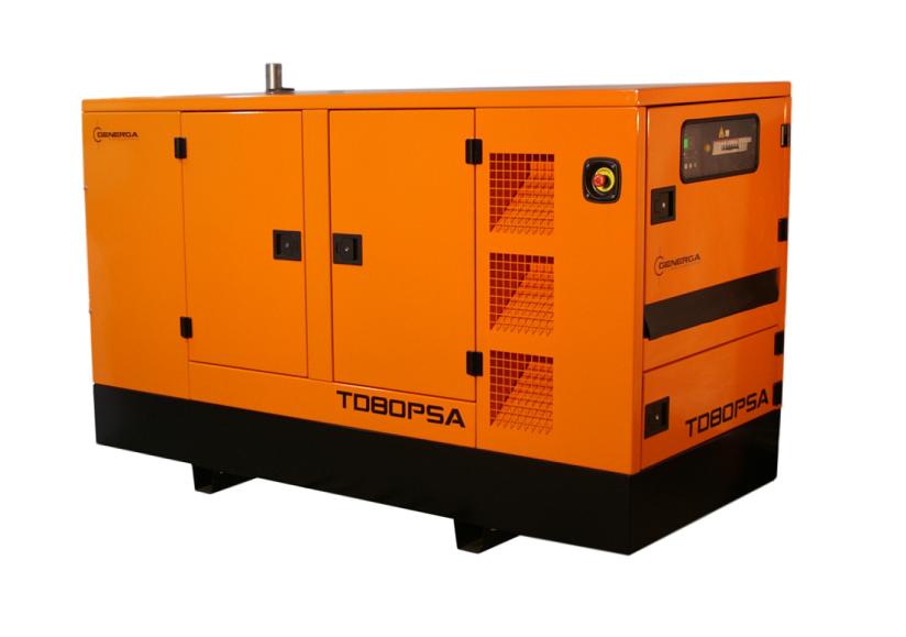 Diesel power generator TD80PSA