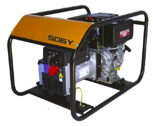 Diesel power generator SD6Y
