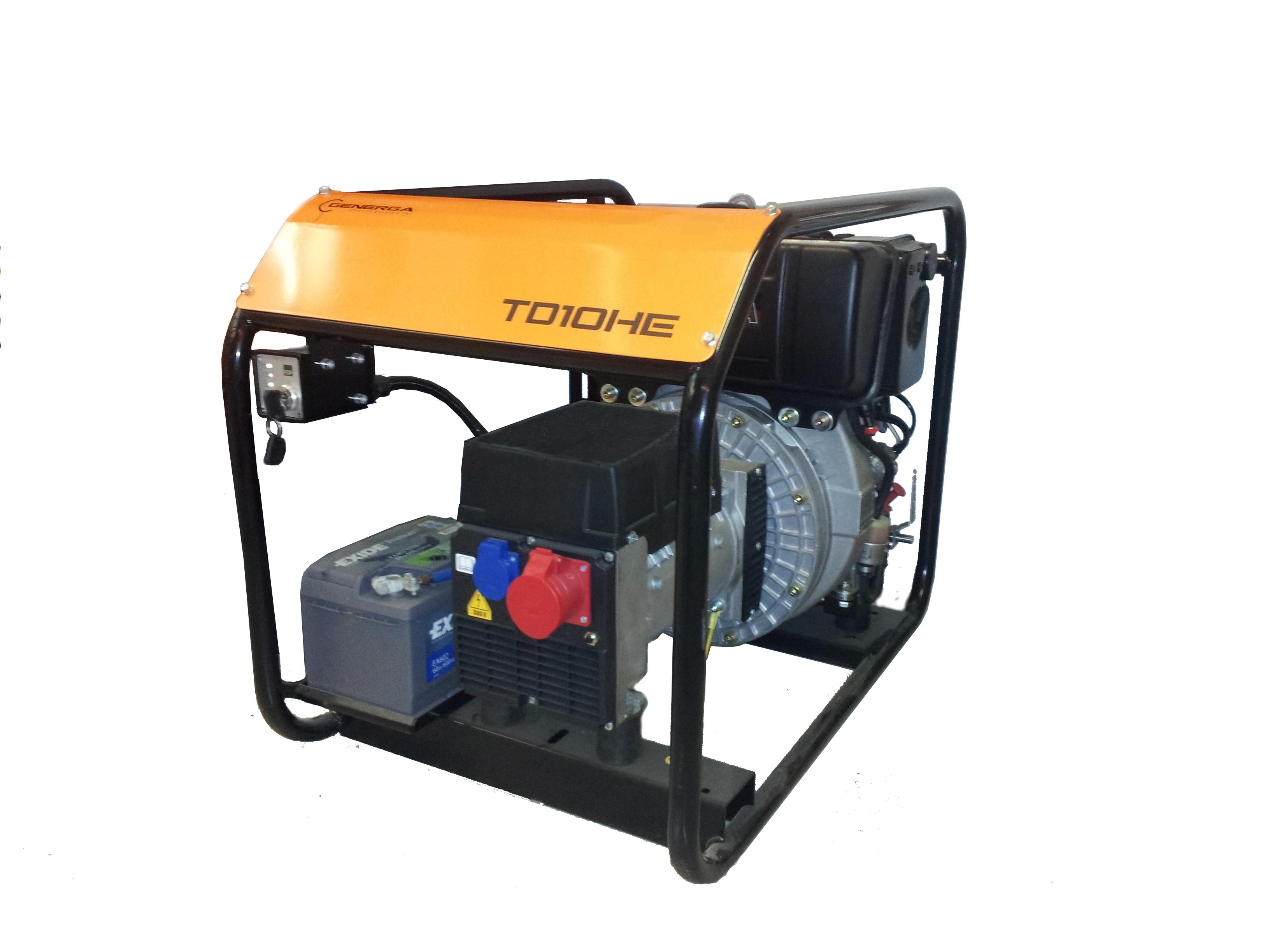 Diesel power generator TD 10 HE